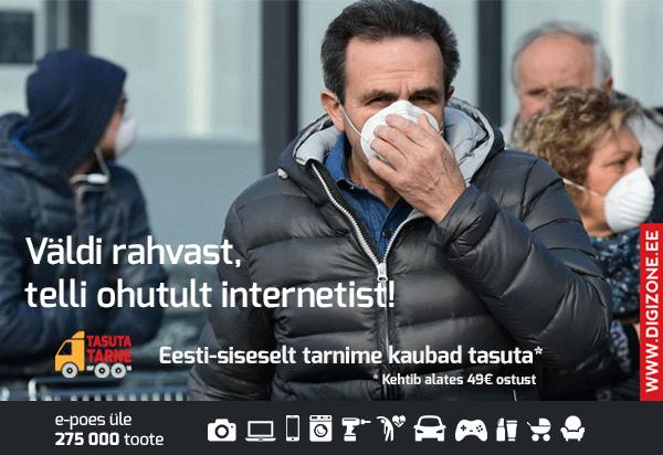 Koroonaviiruse epideemia paraku ongi jõudnud Eestisse. Väldi rahvarohkust, telli ohutult internetist!