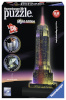 Ravensburger 3D pusle Empire State Building Night Edition 216-osaline