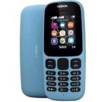 Nokia mobiiltelefon 105 (2017) DUAL sinine ENG