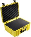 B&W International kohver Type 6000 kollane vahtkummist toestusega