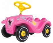 BIG tõukeauto Bobby Car Classic Girlie roosa