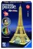 Ravensburger 3D pusle Eiffel Tower Night Edition 216-osaline