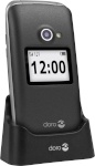 Doro mobiiltelefon 2424 graphite-hõbedane