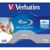 Verbatim toorikud BD-R 25GB 6X Jewel Box (43713)