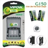 Vipow akulaadija G150 + 4x 2300mAh AA