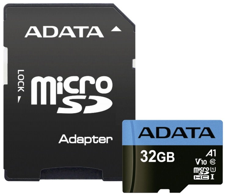 8e23047d88e Adata mälukaart microSDHC UHS-I Class 10 32GB Premier + Adapter A1 - Memory  Cards & Readers - Fotokaubad - Digizone
