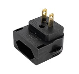 Ansmann US Adapter Euro power line - US plug
