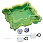 Hasbro mängukomplekt Beyblade Burst Evolution Star Storm Battle Set, roheline (E0722)