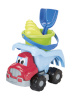 Ecoiffier tööauto rannatarvetega