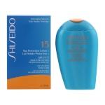 Päivituskreem näole Sun Protection Anti Aging Shiseido Spf 15 (150ml)