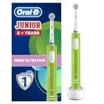 Braun hambahari Oral-B Junior Sensi Ultrathin (D16.513), roheline