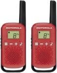 Motorola raadiosaatja TALKABOUT T42 punane