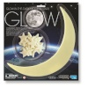 4M helendavad tähed ja kuu Glowing Star and Moon