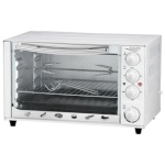 Adler miniahi AD 6001 34 L, Mini Oven, valge, 1600 W