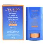 Päikeseblokeerija Sun Clear Stick Shiseido Spf 50 (15ml)