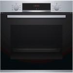 Bosch integreeritav ahi Oven HBA533BS0S Built-in, 71 L, Stainless steel, Eco Clean, A, Push pull buttons, Height 60 cm, Width 60 cm, Integrated timer, Electric