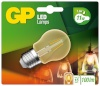 Gp Batteries LED-lambipirn Mini Globus kuldne E27 2W (25W), Filament