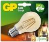 Gp Batteries LED-lambipirn Globe kuldne E27 4W (40W), Filament