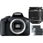 Canon EOS 2000D + EF-S 18-55mm IS II + lisaaku LP-E10