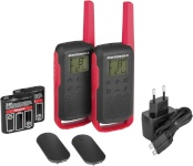 Motorola raadiosaatja TALKABOUT T62 punane