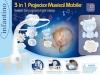 B-kids Musical carousel Infantino sinine