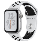 Apple Watch Series 4 Nike+ GPS 40mm Silver Aluminum Case with Pure Platinum/Black Nike Sport Band