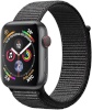 Apple Watch Series 4 GPS + Cellular 44mm Space Gray Aluminum Case with Black Sport Loop