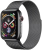 Apple Watch Series 4 GPS + Cellular 40mm Space Black Stainless Steel Case with Space Black Milanese Loop