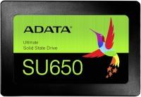 "Adata kõvaketas SSD ADATA 2.5"" Ultimate SU650 240GB"