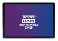 """GOODRAM kõvaketas SSD Disc CX400 512GB SATA3 2.5"""" 550/490MB/s 7mm"""