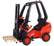 BIG pedaalidega tõstuk Linde Forklift punane   800056580