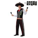 Maskeraadi kostüüm täiskasvanutele Th3 Party Mariachi Suurus XL