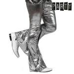 Täikasvanute püksid Th3 Party Disco Läige Hõbe Suurus XL