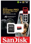 SanDisk mälukaart microSDXC Extreme Pro 128GB A2 170MB/s + adapter
