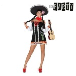 Th3 Party Maskeraadi kostüüm täiskasvanutele Th3 Party Seksikas mariachi Suurus M/L