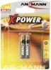 Ansmann patarei Alkaline AAAA X-Power 2-pakk (10tk)