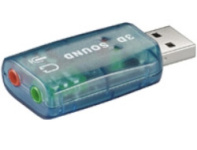 Mcab helikaart USB 2.0 Soundcard
