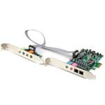 Startech helikaart 7.1 Channel Pcie Sound Card