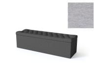 Sleepwell jalutsikast kontinentaalvoodile BLACK SOLHALL, 150x50x46cm, helehall