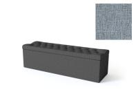 Sleepwell jalutsikast kontinentaalvoodile BLACK SOLHALL, 150x50x46cm, helesinine