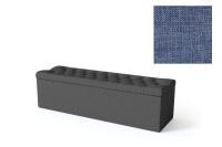 Sleepwell jalutsikast kontinentaalvoodile BLACK SOLHALL, 150x50x46cm, sinine