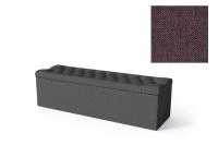 Sleepwell jalutsikast kontinentaalvoodile BLACK SOLHALL, 120x50x46cm, punakaspruun