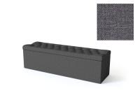 Sleepwell jalutsikast kontinentaalvoodile BLACK SOLHALL, 150x50x46cm, tumehall