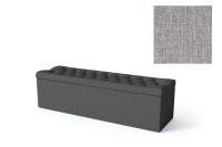 Sleepwell jalutsikast kontinentaalvoodile BLACK SOLHALL, 120x50x46cm, hall