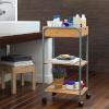 BGB Home Bambusest vannitoas kasutatav käru