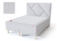 Sleepwell kontinentaalvoodi alusraamil RED CONTINENTAL FRAME, 180x200cm, helehall, pehme