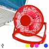 BGB Gadget Mini Ventilaator USB-ga Arvutile 144389 Värvus Punane
