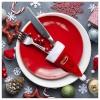 BGB Christmas Jõuluvana Müts Söögiriistade Karp 145897 Värvus Punane