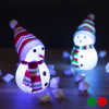 BGB Christmas LED jõulukaunistus Lumememm 145896 Värvus Punane