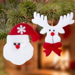 BGB Christmas Jõuludekoratsioonide komplekt (2 pcs) 145105 Värvus Valge